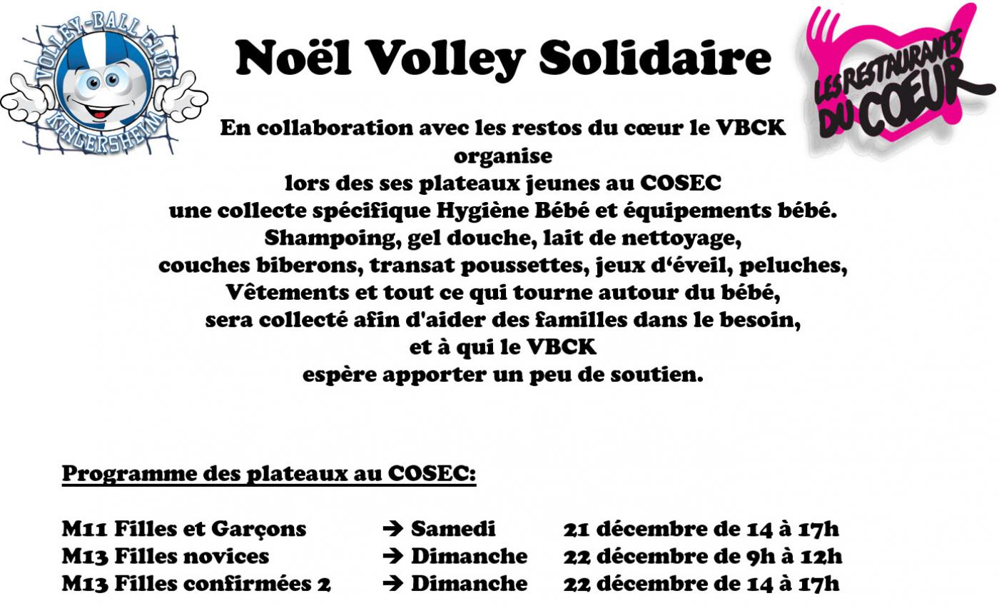 Noel Volley Solidaire