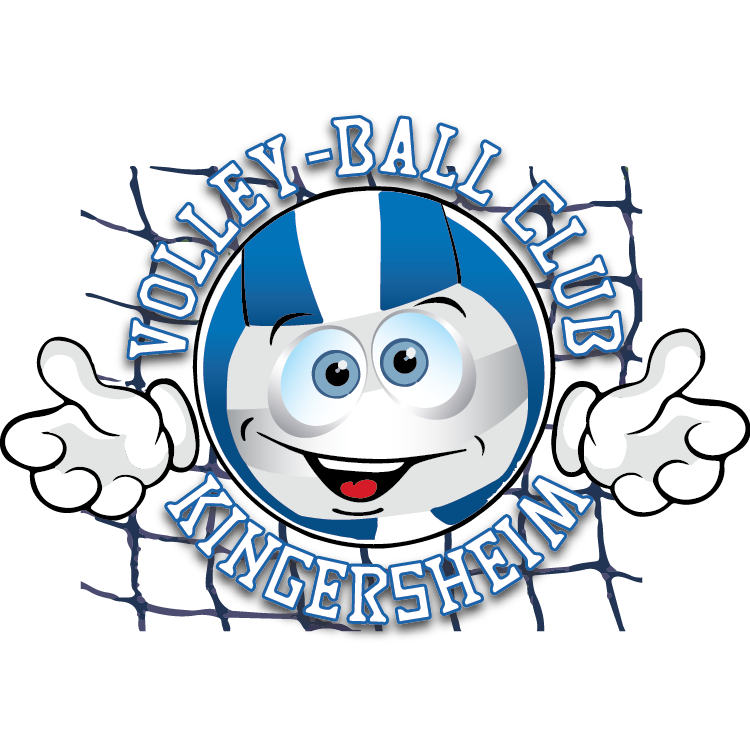 Logo Volley-Ball Club de Kingersheim